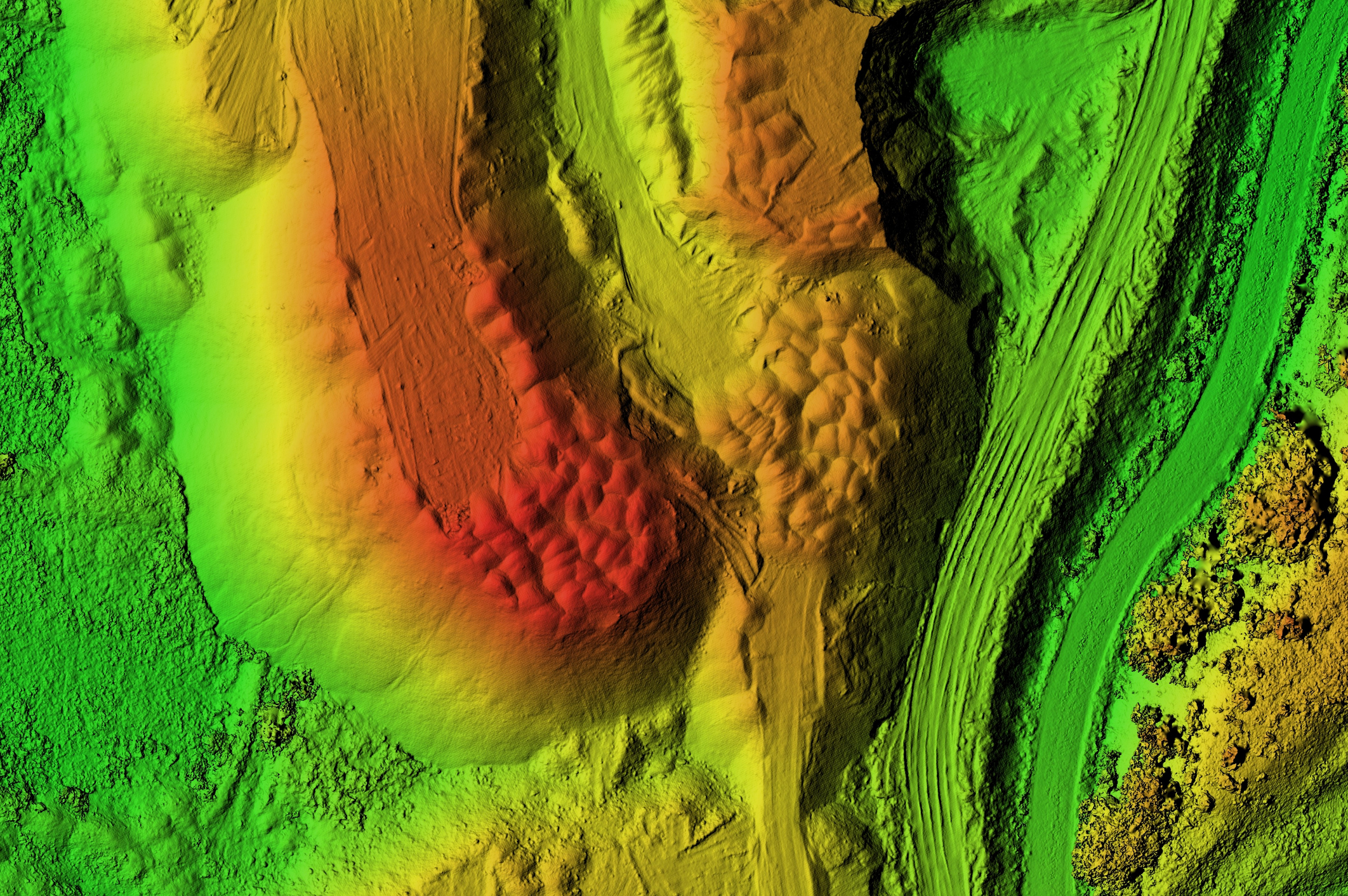 Lidar Mapping From All Ground and Airborne Systems