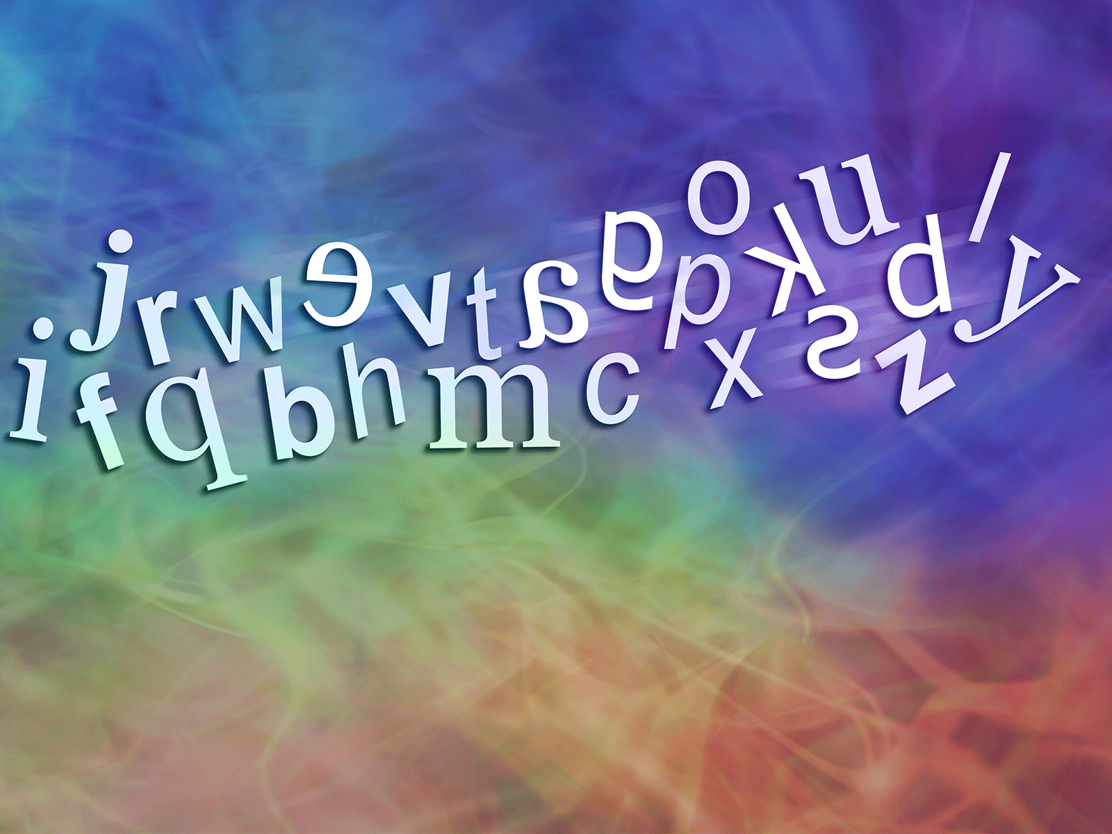 chaotic letters