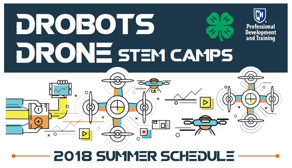 Drobots Drone STEM Camps | UNH Professional Development & Training