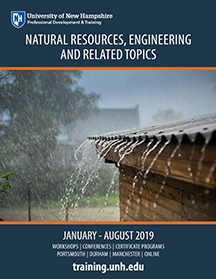 UNH PDT Natural Resources Catalog