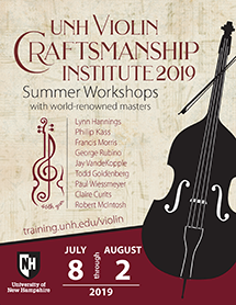 UNH Violin Institute Catalog